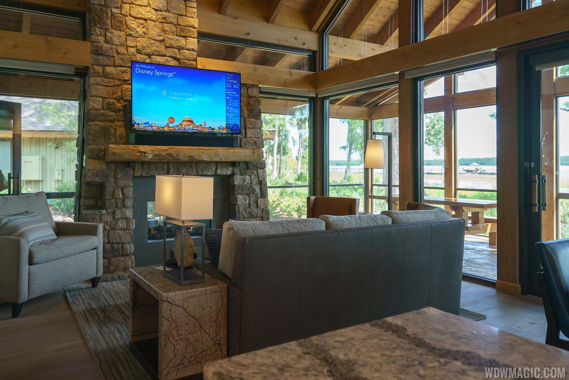 Tour of Copper Creek Villas and Cabins at Disney's Wilderness Lodge