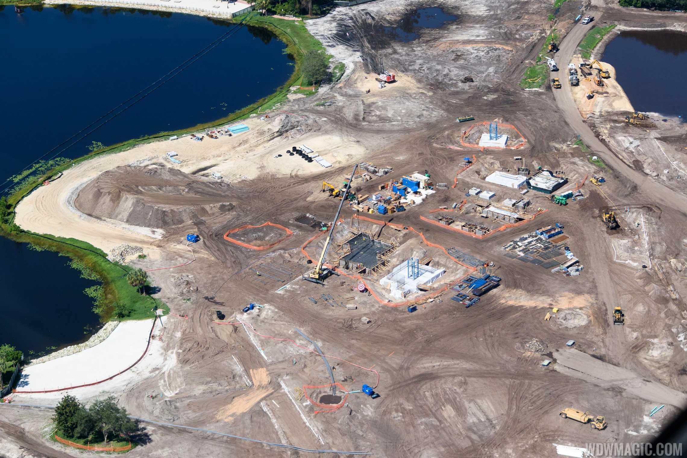 Disney Riviera Resort construction