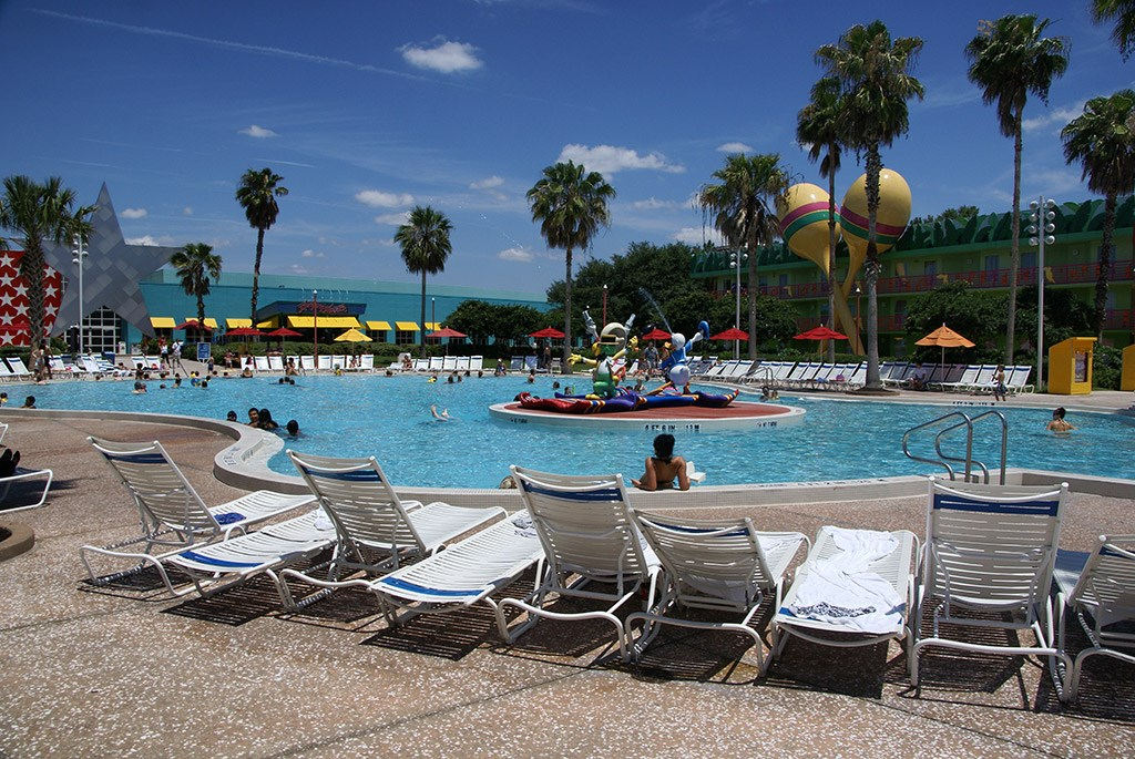 All Star Music Resort pools