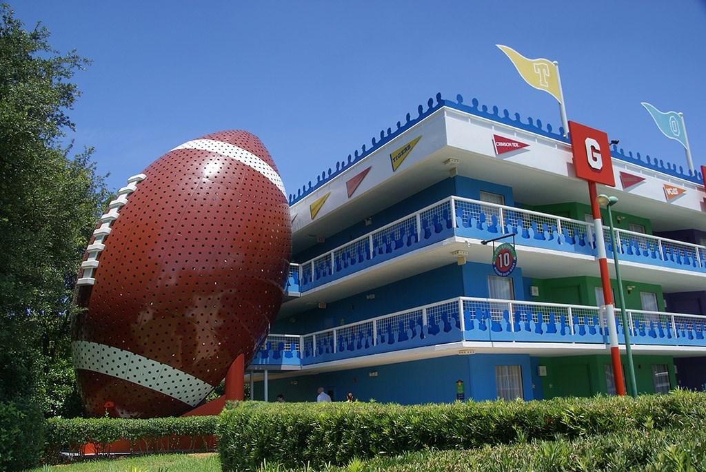 Touchdown buildings