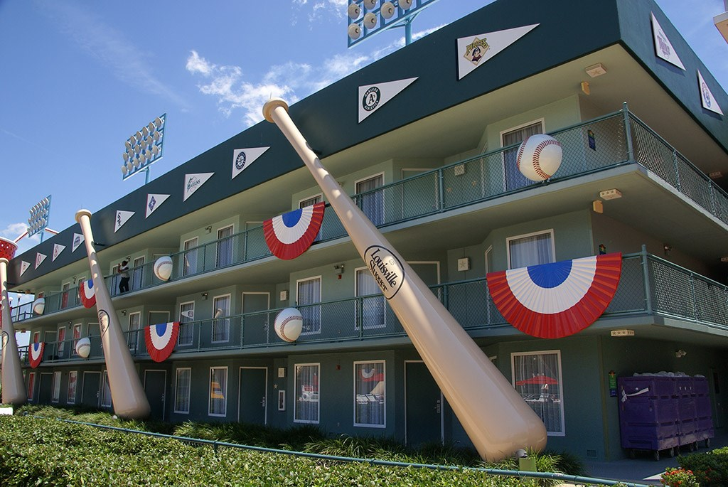 Homerun Hotel buildings
