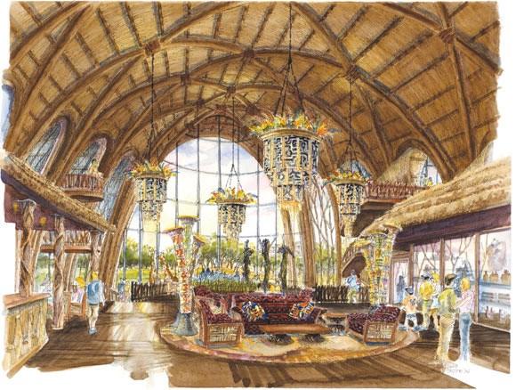 Disney Animal Kingdom Villas concept art