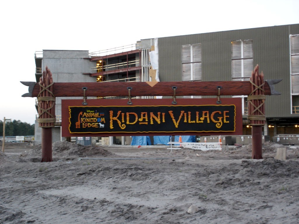 Kidani Village construction