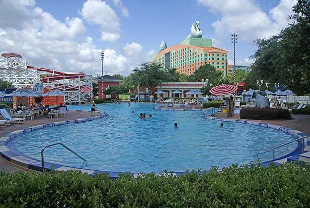 BoardWalk Inn Luna Park main feature pool