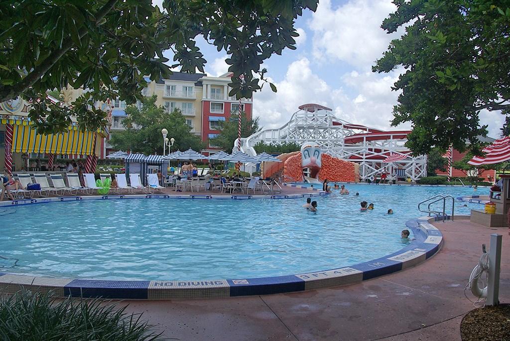 BoardWalk Inn Luna Park main feature pool