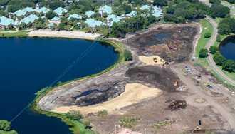 PHOTOS - Barbados and Martinique demolition underway at Disney's Caribbean Beach Resort