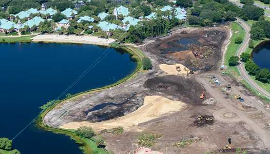 PHOTOS - Barbados and Martinique demolition underway at Disney's Caribbean Beach Resort