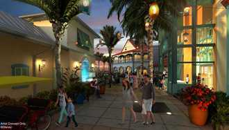 PHOTOS - Disney reveals full details on the updates coming to the Caribbean Beach Resort