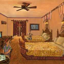 New Pirates of the Caribbean Rooms concept art
