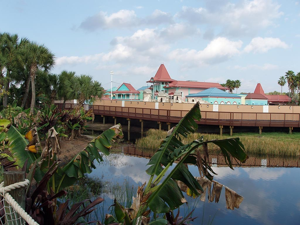 Caribbean Beach main pool refurbishment progress photos