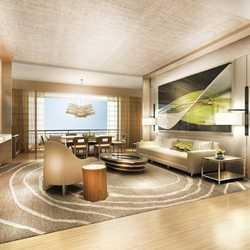 Contemporary Resort wellness suites