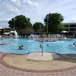 Contemporary Resort feature pool post refurbishment