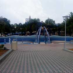 Contemporary Resort water play area