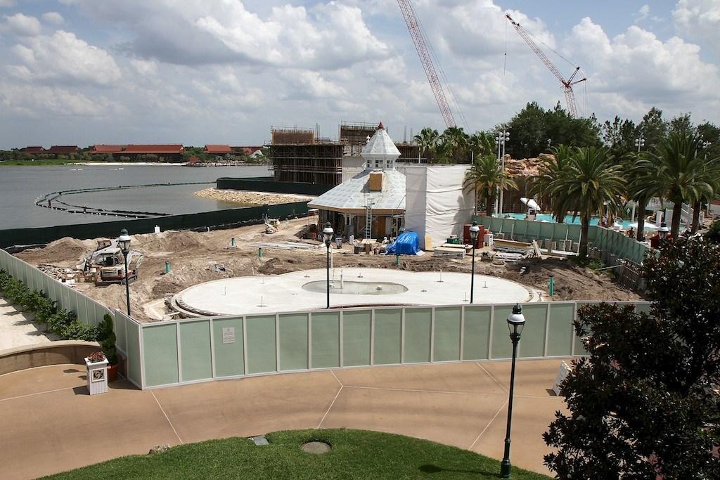 Disney's Grand Floridian DVC construction
