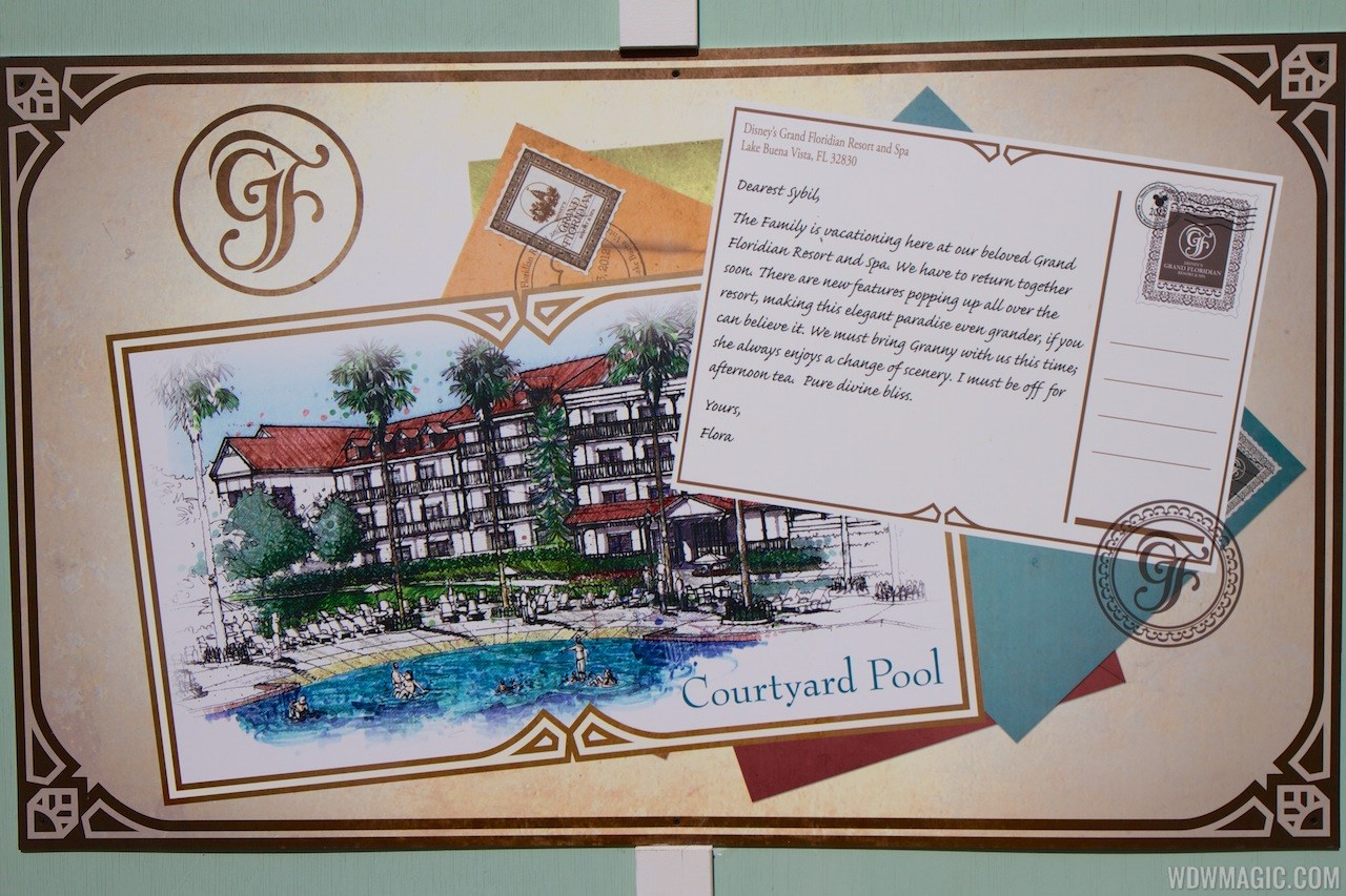 Disney's Grand Floridian Resort refurbishment concept art