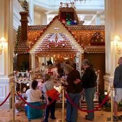 Grand Floridian Gingerbread House 2012