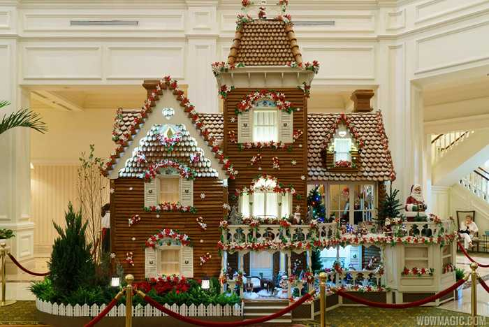 2015 Grand Floridian Gingerbread House