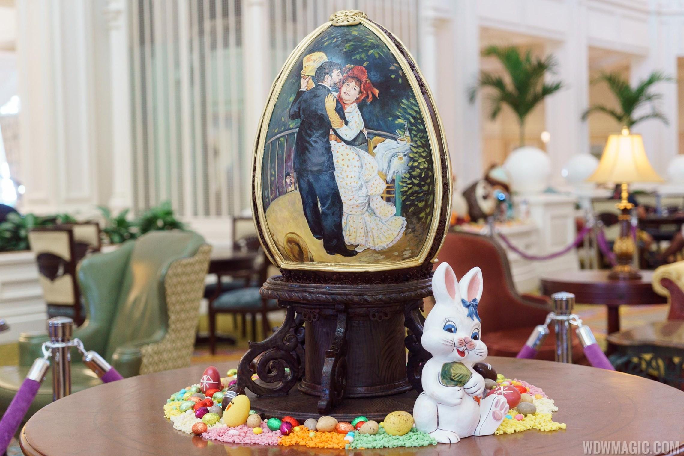 2017 Grand Floridian Resort Easter Eggs