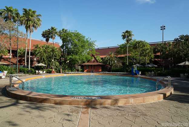 Original Polynesian Resort East Quiet Pool