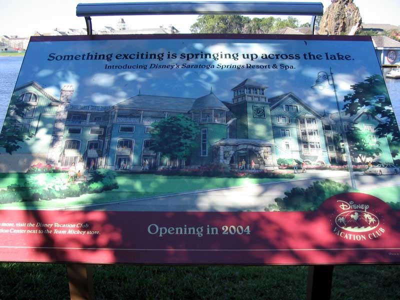 Saratoga Springs Resort construction update