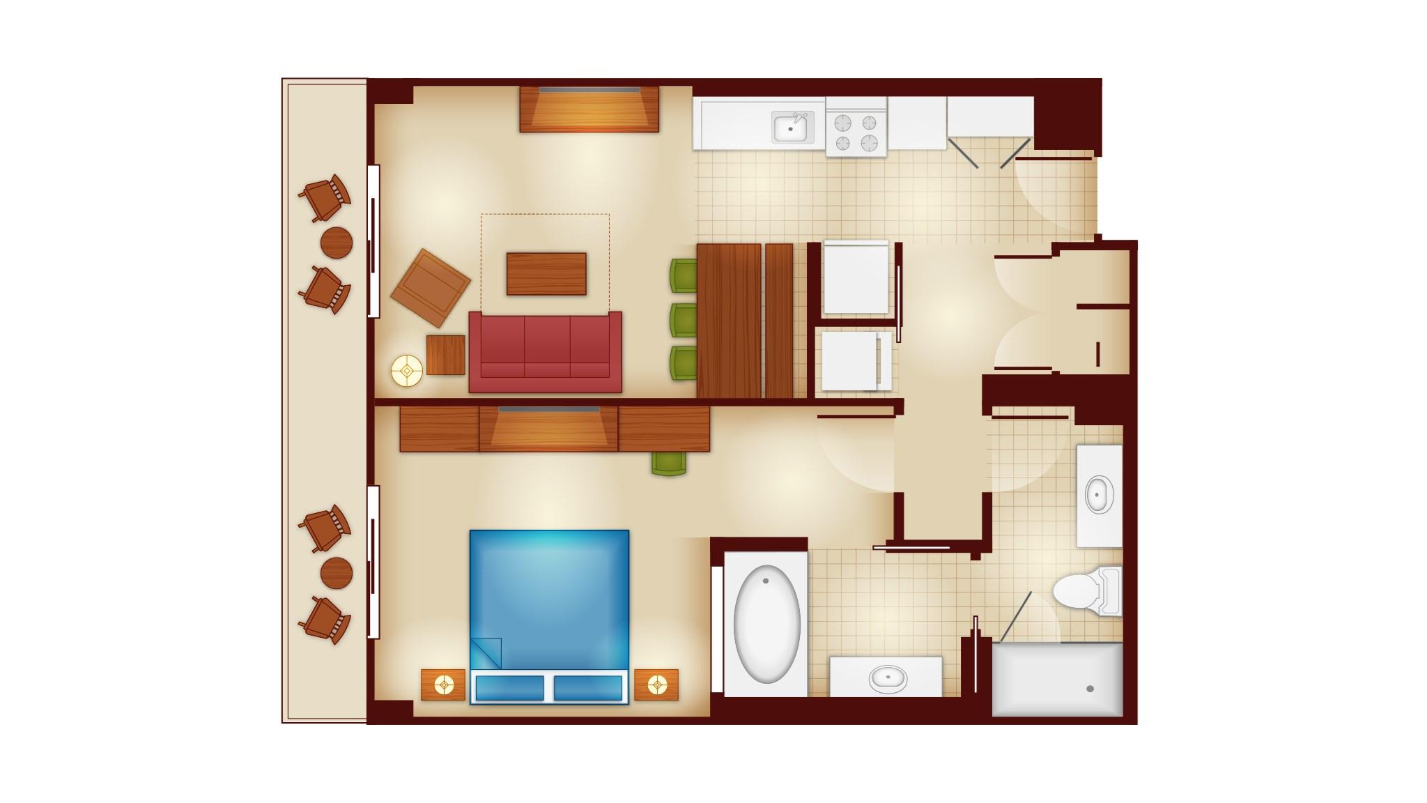 Treehouse Villas Disney Floor Plan Copper Creek Villas And