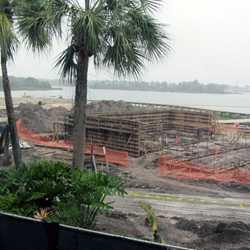 Polynesian Resort DVC construction