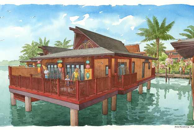 Disney's Polynesian Villas and Bungalows concept art