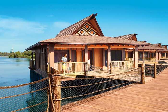 The Bora Bora Bungalows at Disney's Polynesian Village Resort