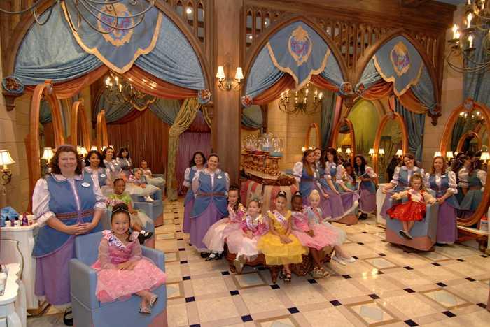 Bibbidi Bobbed Boutique at Cinderella Castle