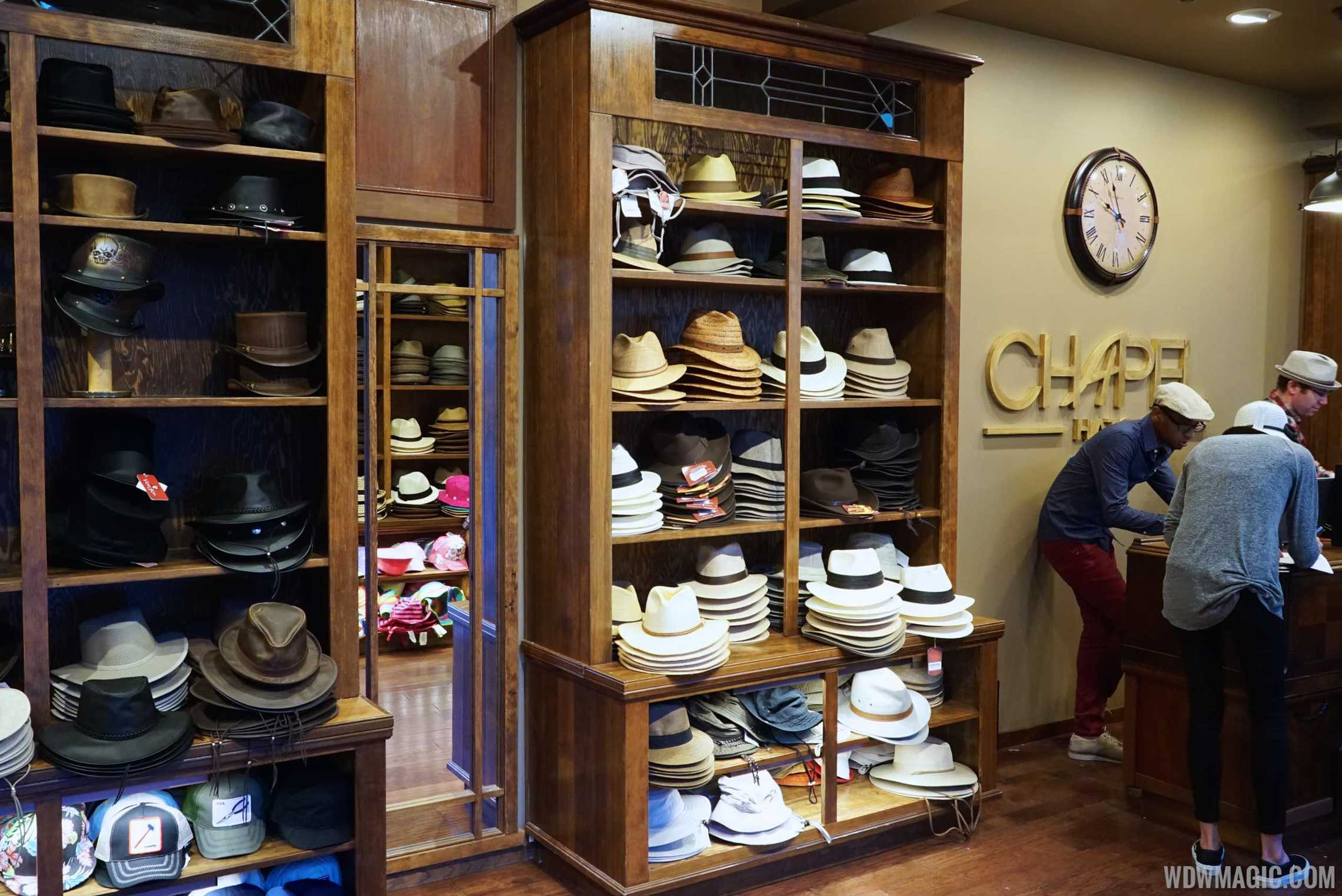 Chapel Hats - Store overview