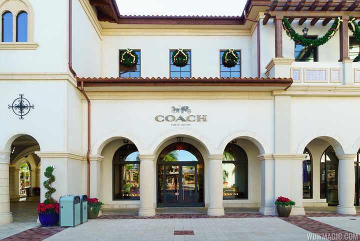 PHOTOS - Coach now open in the Town Center at Disney Springs