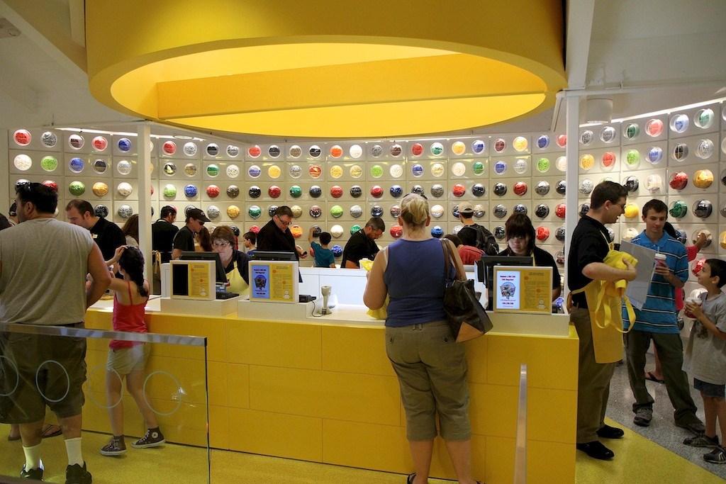 New LEGO Imagination Center - opening day