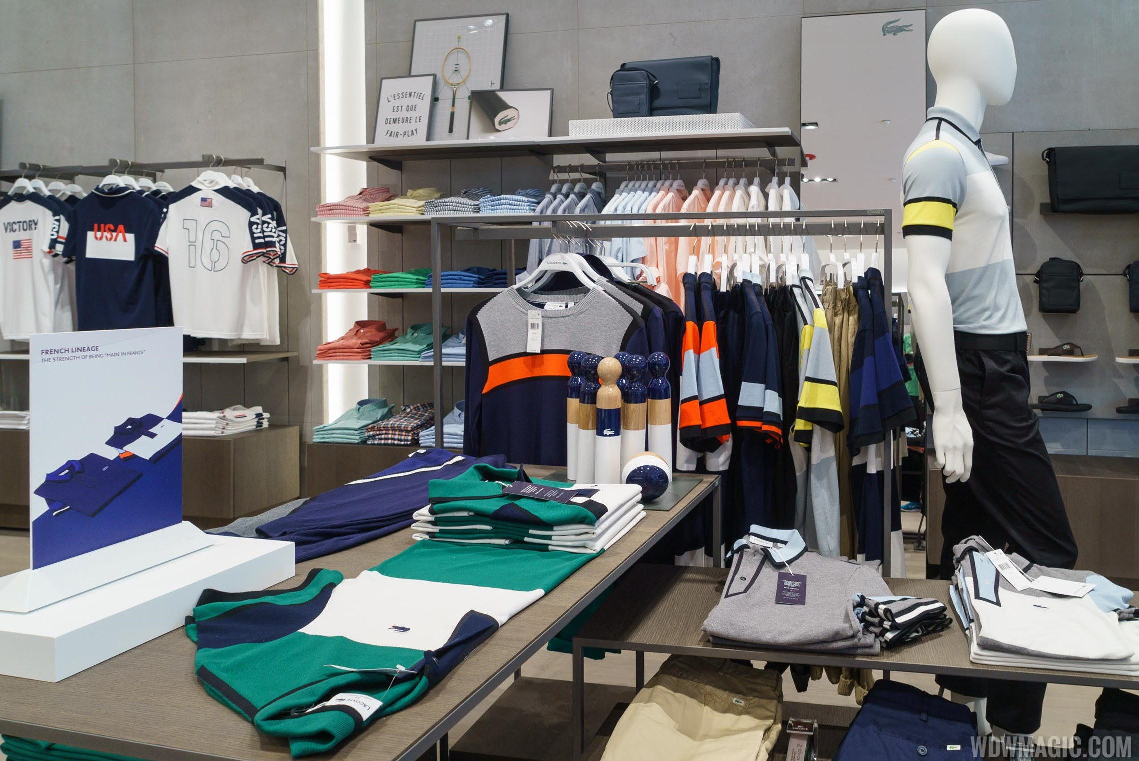 Lacoste overview