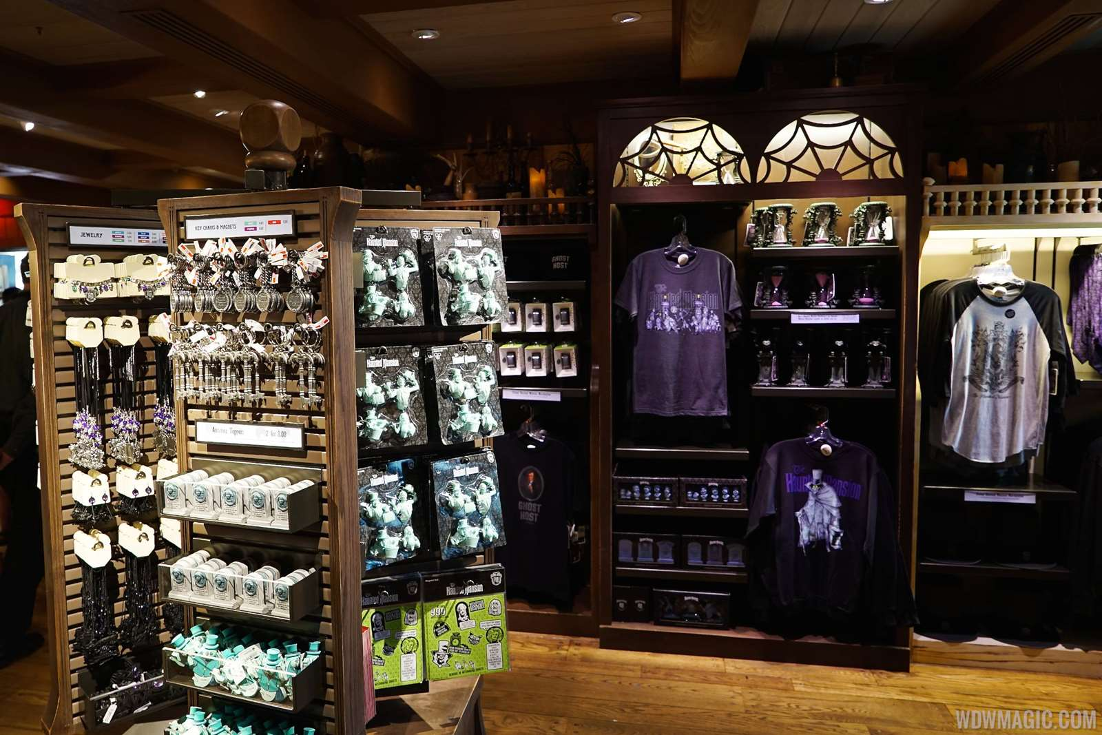PHOTOS - First look inside the new Haunted Mansion gift shop ...