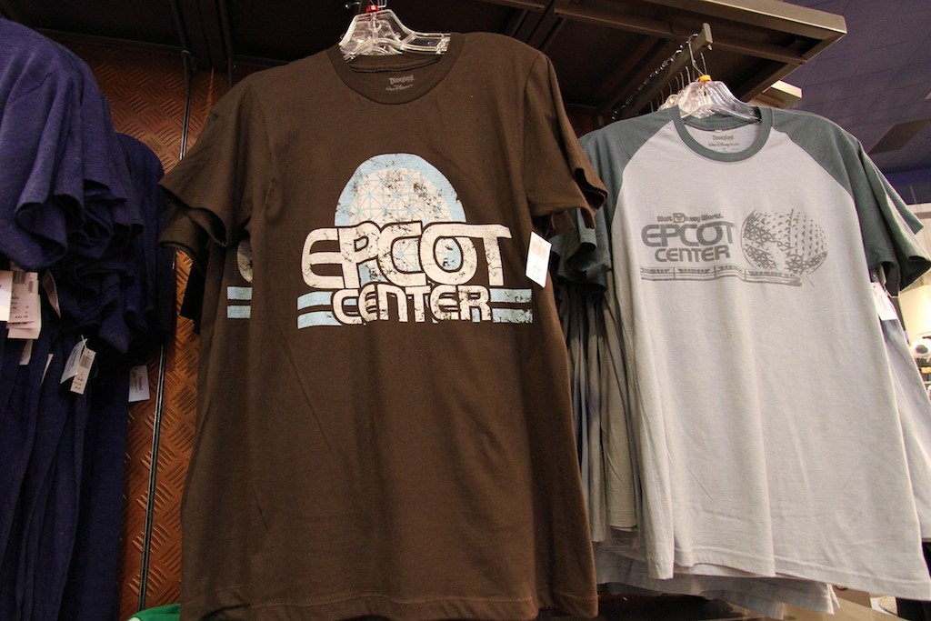 Retro Epcot shirts