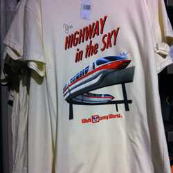 Peoplemover and monorail TShirts