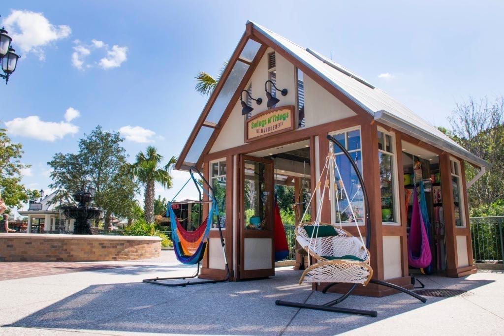 Swings N' Things brings hammocks and more to Disney Springs