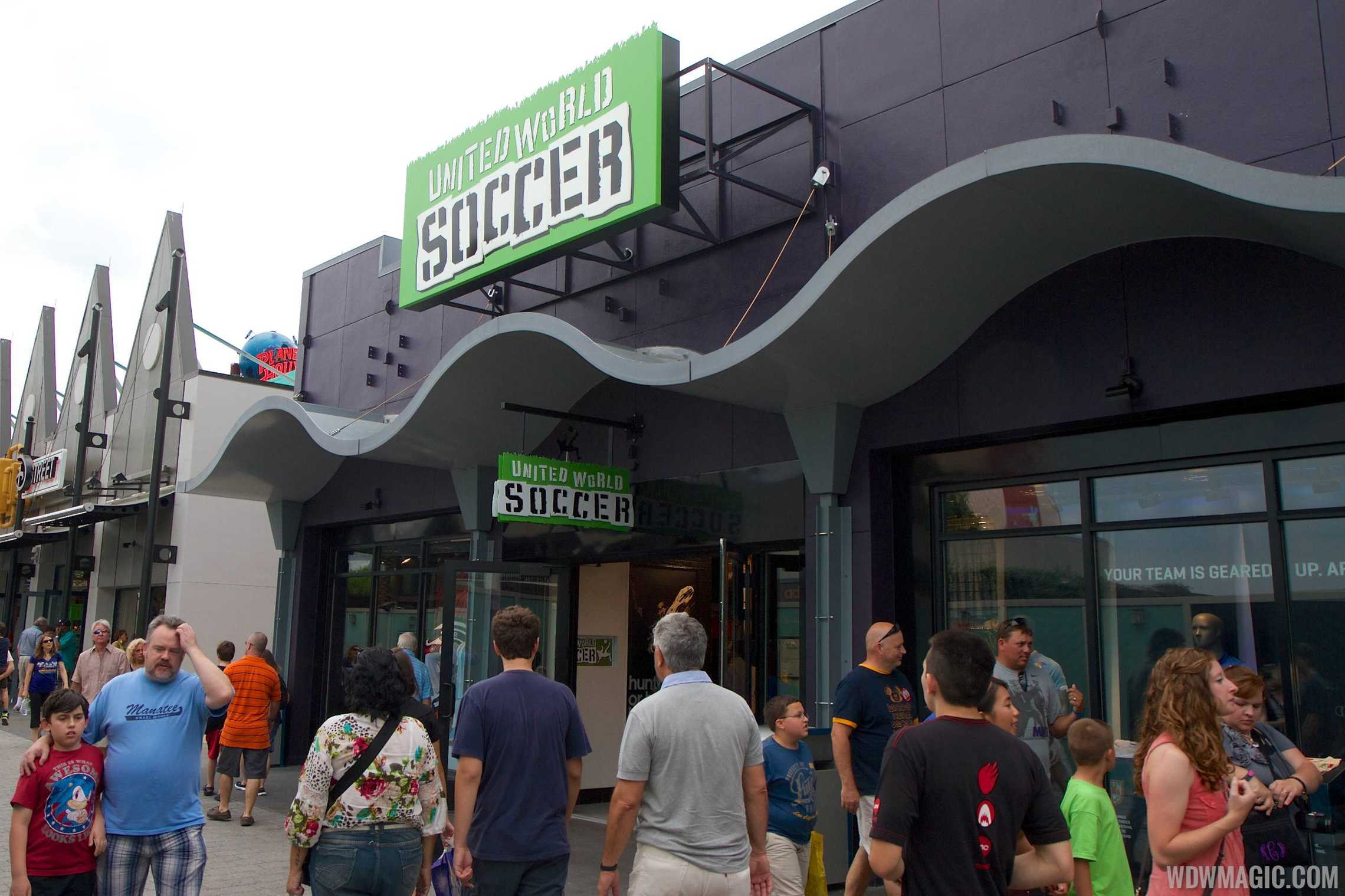 United World Soccer exterior