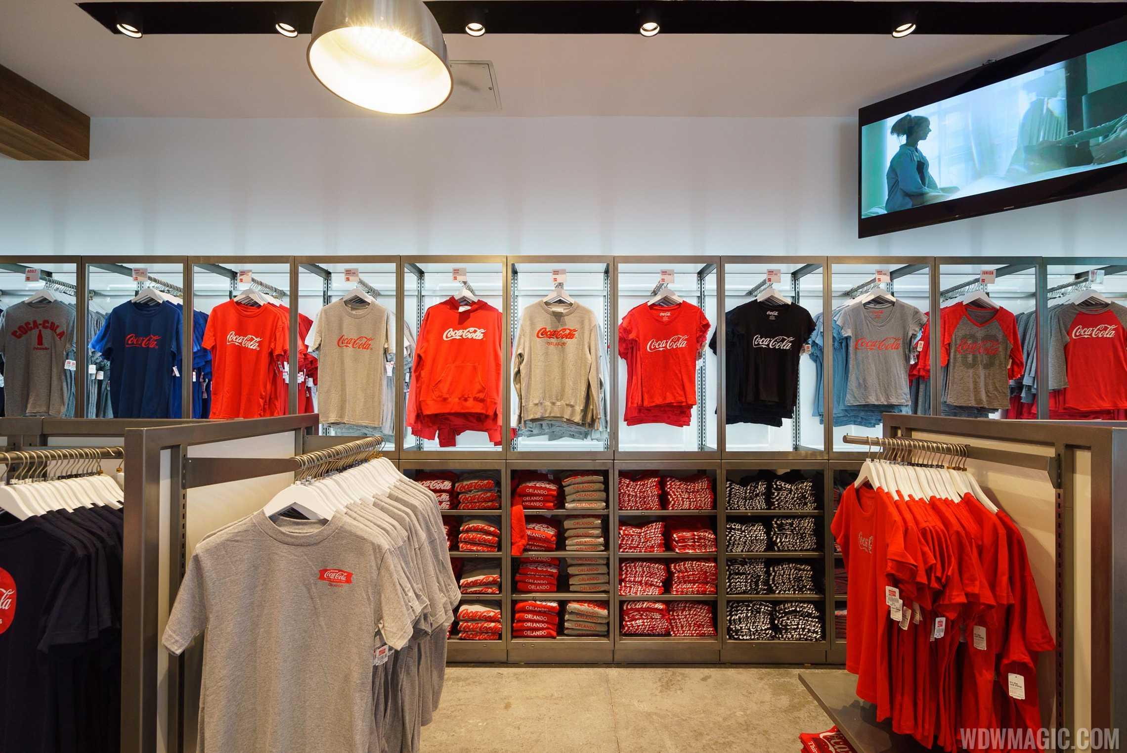 Coca-Cola Store Orlando - Ground Floor merchandise