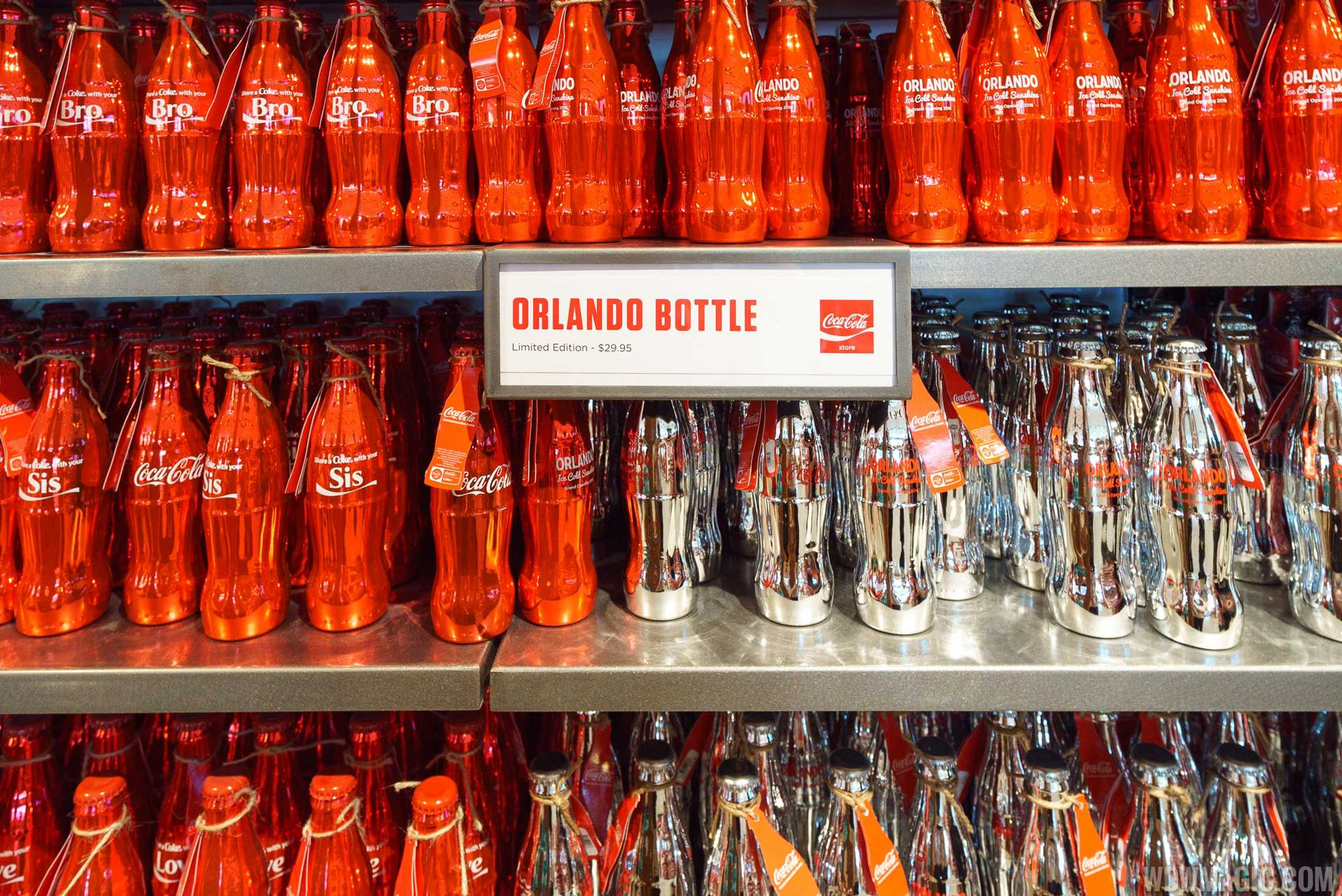 Coca-Cola Store Orlando - Orlando bottle limited edition