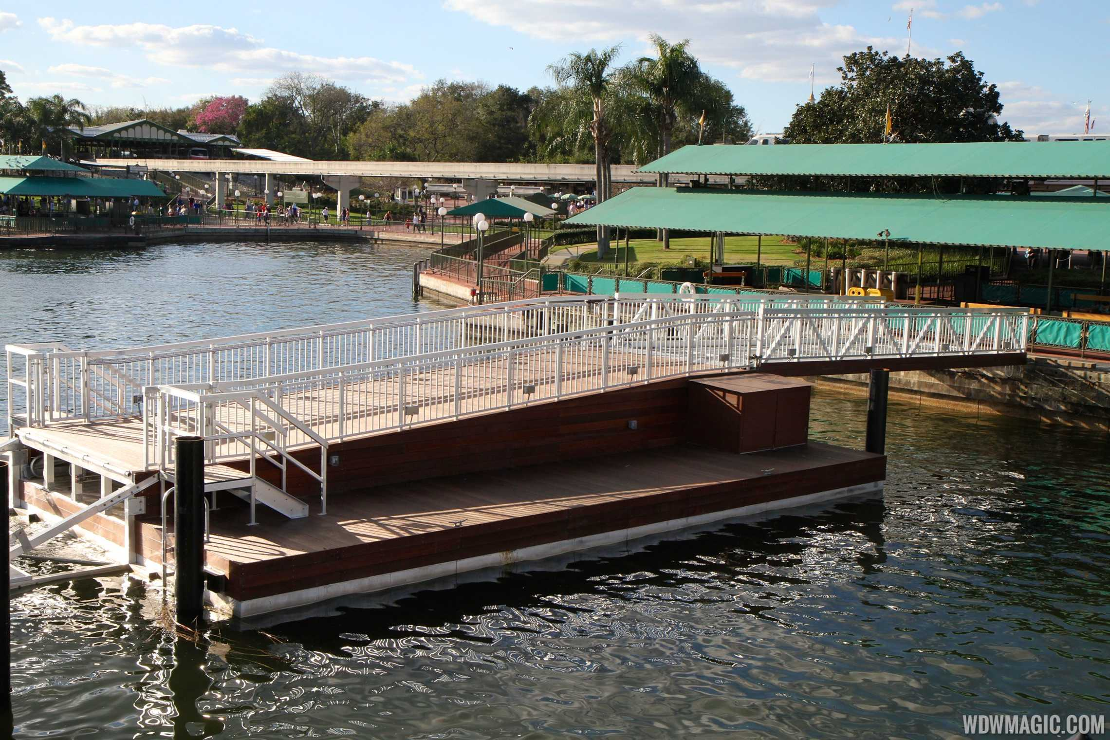 Second ferry boat dock at the Magic Kingdom
