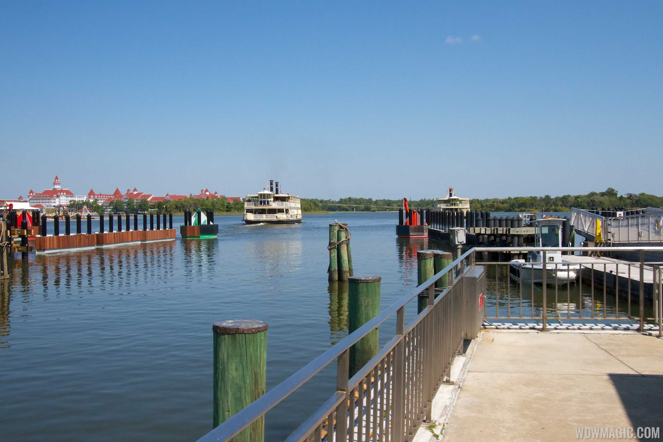 Second boat dock in operation at the TTC