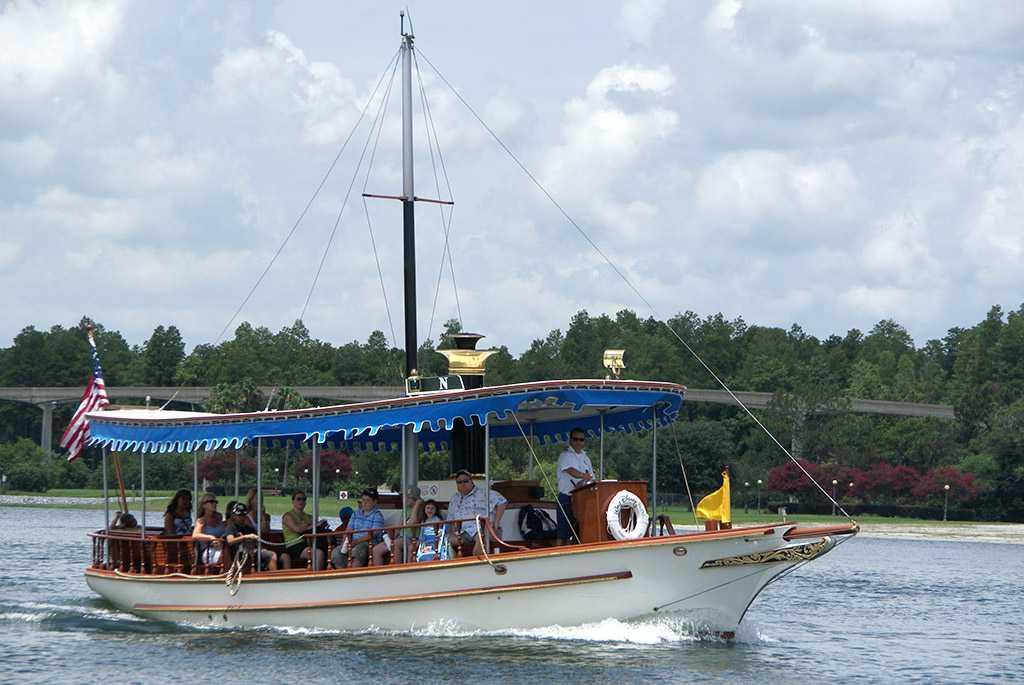Navigator motor launch boat