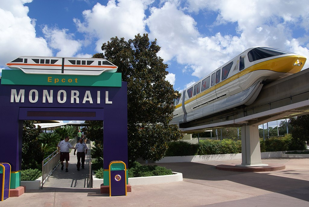 Monorail Station - Transportation and Ticket Center