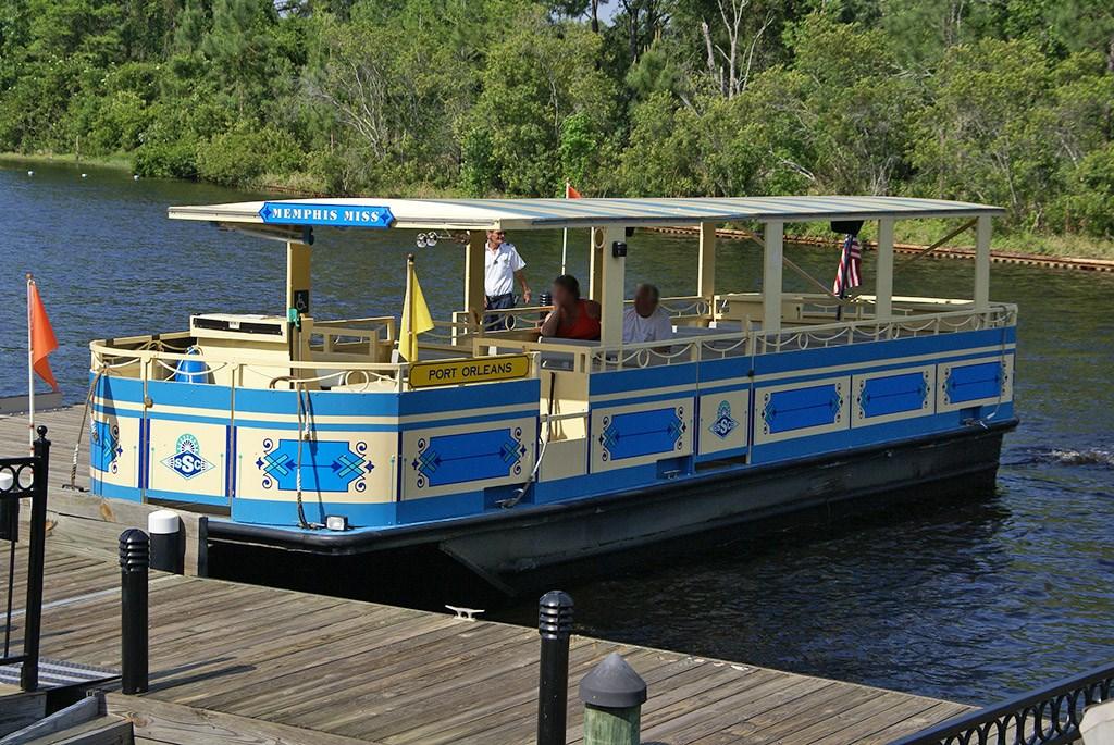 Memphis Miss boat