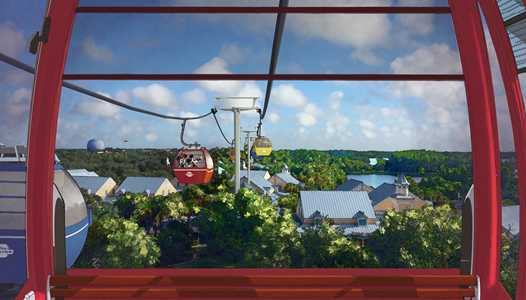 PHOTOS - First look at concept art for the Disney Skyliner stations