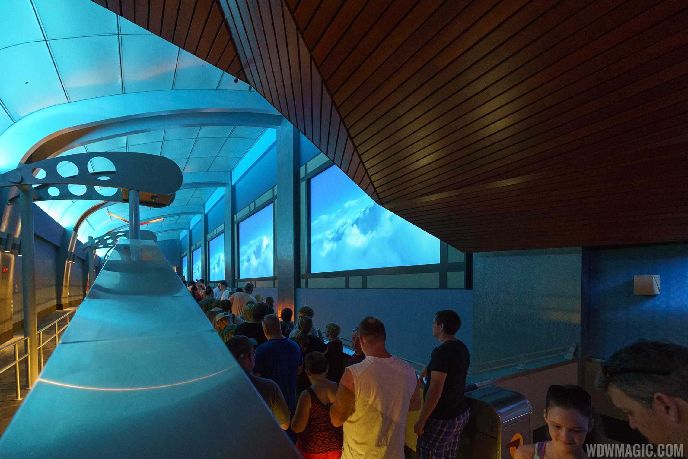 Interactive Queue at Soarin' Around the World