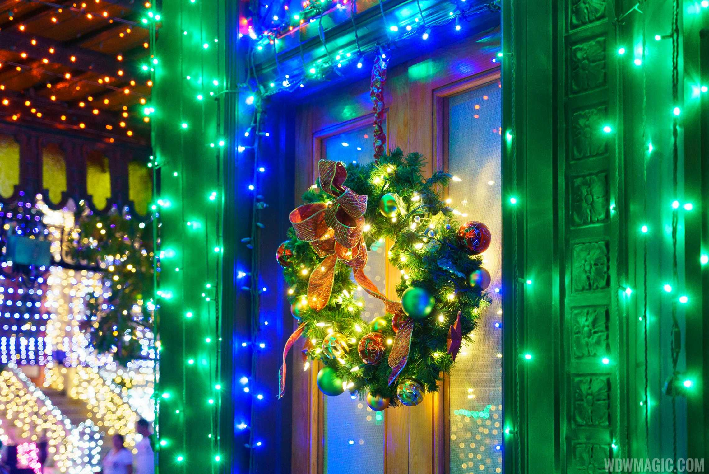 Close-up of details at the Osborne Family Spectacle of Dancing Lights