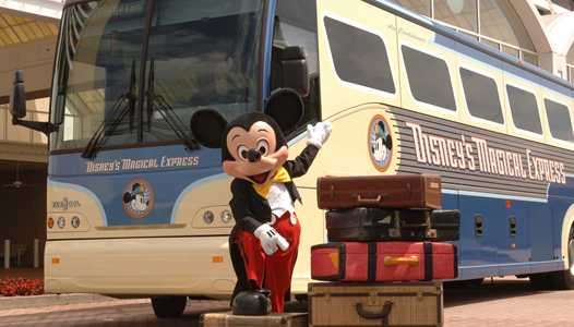 Magical Express to pickup 4 hours before flight departure time due to new security measures