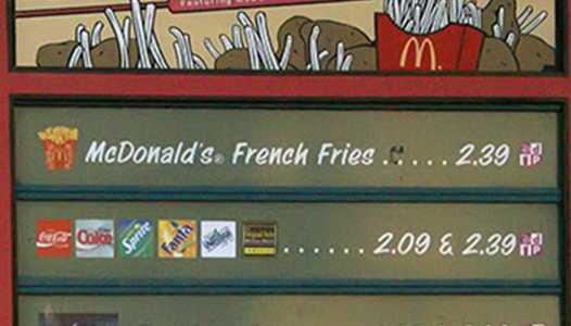 Fairfax Fries closed for refurbishment
